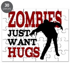 Zombies Just Want Hugs Puzzle