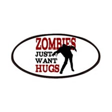 Zombies Just Want Hugs Patches