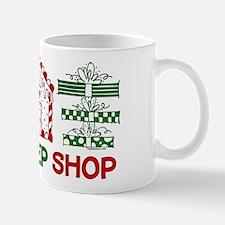 Eat Sleep Christmas Shop Mug