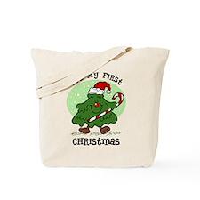 1st Christmas Tree Tote Bag