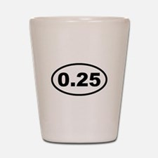 One Lap Shot Glass