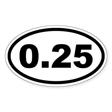 One Lap Sticker (Oval)