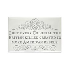 Colonial Blowback Rectangle Magnet