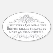 Colonial Blowback Decal