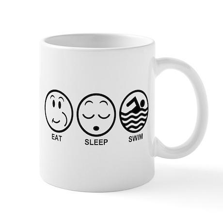 Eat Sleep Swim Mug