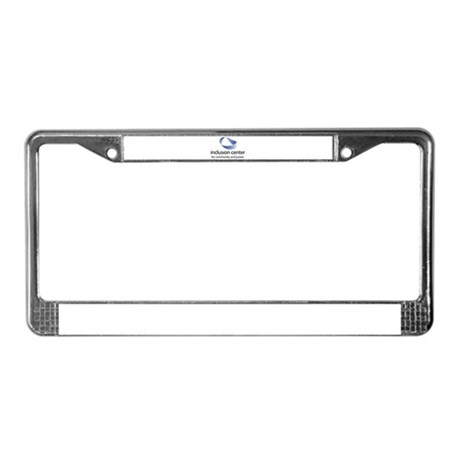 Inclusion Center License Plate Frame