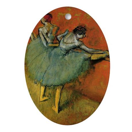 Degas Ornament (Oval)