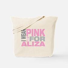 I wear pink for Aliza Tote Bag