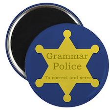 """Grammar Police 2.25"""" Magnet (10 pack)"""