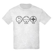 Eat Sleep Film T-Shirt