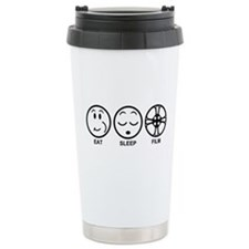 Eat Sleep Film Travel Mug