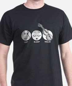 Eat Sleep Violin T-Shirt