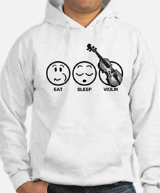 Eat Sleep Violin Hoodie