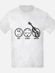 Eat Sleep Violin T-Shirt