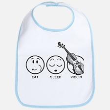 Eat Sleep Violin Bib