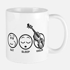 Eat Sleep Violin Mug