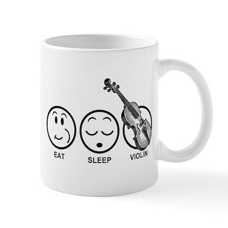 Eat Sleep Violin Mug