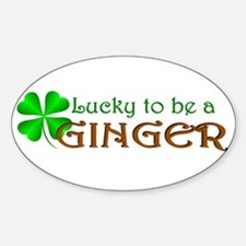 Lucky Ginger Decal
