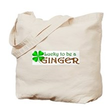 Lucky Ginger Tote Bag
