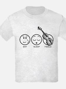 Eat Sleep Fiddle T-Shirt