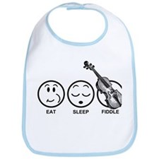 Eat Sleep Fiddle Bib