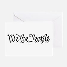 WE THE PEOPLE XVII Greeting Card