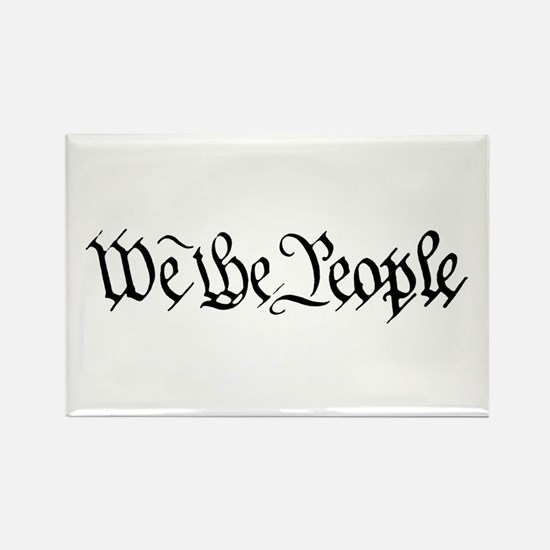 WE THE PEOPLE XVII Rectangle Magnet