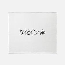 WE THE PEOPLE XVII Throw Blanket