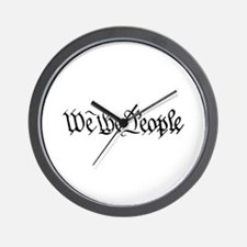 WE THE PEOPLE XVII Wall Clock