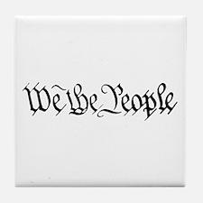 WE THE PEOPLE XVII Tile Coaster