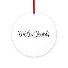 WE THE PEOPLE XVII Ornament (Round)