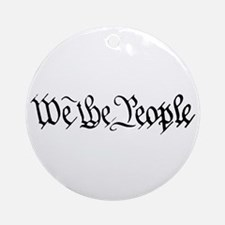 WE THE PEOPLE XVII Ornament (Round)