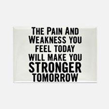 Stronger Tomorrow Rectangle Magnet