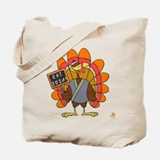 Turkey Day Eat Sushi Tote Bag