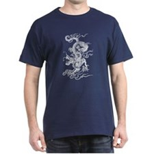 White Dragon Master T-Shirt
