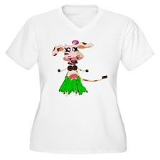 Luna, the hula-hula moo-cow T-Shirt