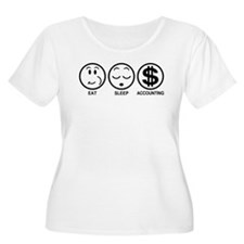 Eat Sleep Accounting T-Shirt