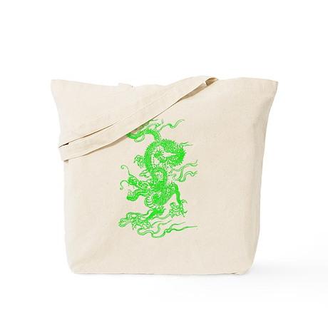 Green Dragon Master Tote Bag