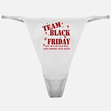 Team Black Friday Classic Thong