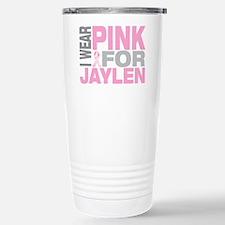 I wear pink for Jaylen Travel Mug