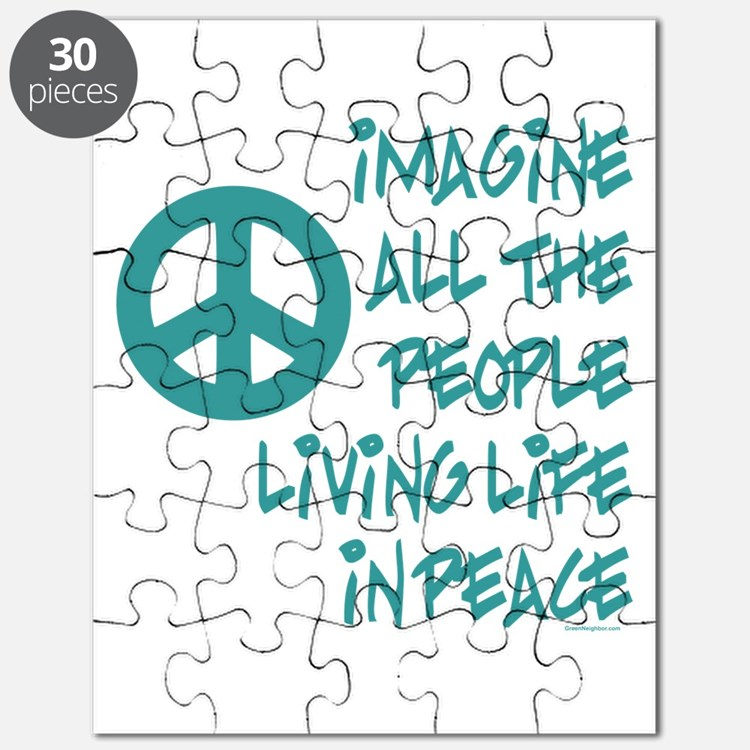 Imagine Peace Puzzle