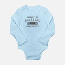 Customizable Boerboel Long Sleeve Infant Bodysuit