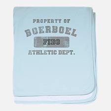 Customizable Boerboel baby blanket
