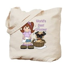 World's Best Groomer Tote Bag