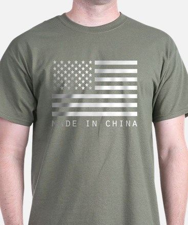 USA Made in China T-Shirt