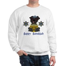 Hanukkah Pug Tees and Gifts Sweatshirt
