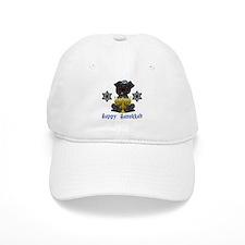 Hanukkah Pug Tees and Gifts Baseball Cap