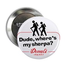 "Denali Climbing 2.25"" Button"
