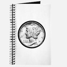 Mercury Dime Journal