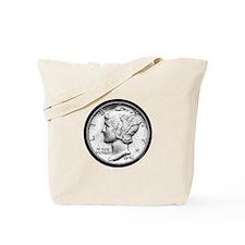Mercury Dime Tote Bag